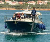 Motorboot Adriana 44 chartern in Marina Kornati