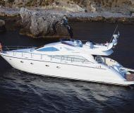 Yacht Aicon 56 Fly for rent in Marina Villa Igiea