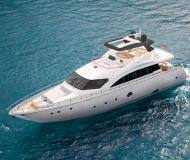 Motor boat Aicon 75 available for charter in Milazzo