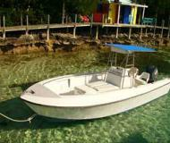 Aquasport 22 Motorboot Charter Bahamas