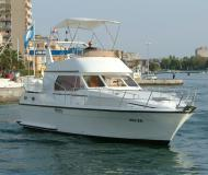 Motor yacht Atlantic 37 available for charter in Marina Zadar