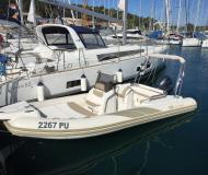 Motor boat BSC 65 available for charter in Pomer