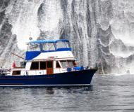 Motor boat CHB 35 Trawler available for charter in Granville Island Boatyard