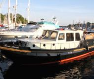 Motoryacht Classic Sturdy 35 AC Yachtcharter in Yachthafen Alte Trave