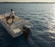 Flyer 650 Open Motorboot chartern Mahon