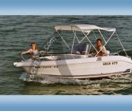 Galia 475 Motorboot chartern Hagnau