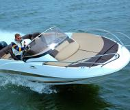 Motor boat Galia 520 for rent in Marina BZH Bootszentrum