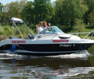 Galia 600 Motorboot Charter Deutschland