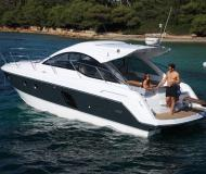 Motor boat Gran Turismo 38 for rent in Port Goecek Marina