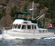 Motor boat Grand Banks 36 Classic for charter in Vancouver