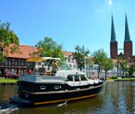 Motorboot Grand Sturdy 380 AC chartern in Yachthafen Alte Trave