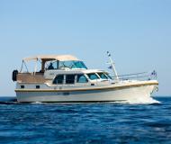 Motorboot Grand Sturdy 40.9 AC Yachtcharter in Kudelstaart
