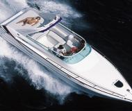 Motor yacht Hawk 32 for charter in Alcantara Marina