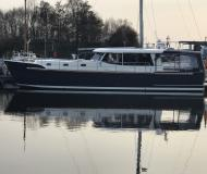 Motor yacht Luna 44 available for charter in Stralsund