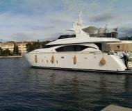 Motorboot Maiora 23S Yachtcharter in Marina Kastela