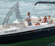 Marinello Eden 22 Motorboot Charter Deutschland