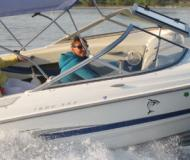 Motor yacht Maxum 1900 SR for rent in Unteruhldingen