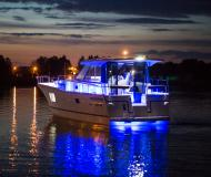 Motor boat Nautika 1300 available for charter in Wilkasy