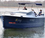 Yacht Nexus 850 for rent in Wilkasy Marina
