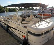 Motoryacht Party Barge 25 Regency Yachtcharter in Hamburg