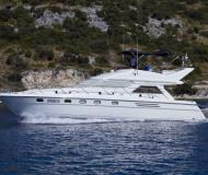 Motor yacht Princess 470 available for charter in Primosten