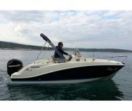 Motoryacht Quicksilver 555 Activ Open Yachtcharter in Povlja Marina