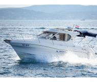 Motor boat Quicksilver 750 available for charter in Marina Zadar