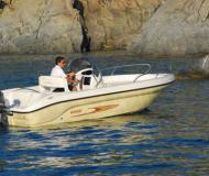 Motorboot Shark 19 chartern in Neuer Hafen von Lazise