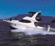 Motor yacht Silverton 34 Convertible for charter in Vancouver