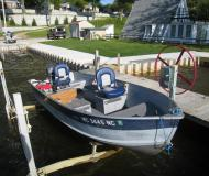 Motorboot Smoker Craft 16 Yachtcharter in Sauble Resort Marina