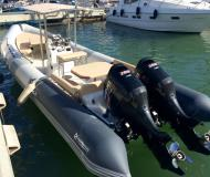 Motor boat SP 900 available for charter in Palma