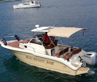 Motoryacht Sun Sport 845 Yachtcharter in ACI Marina Trogir