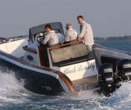 Tender Fish 28 Motorboot Charter Frankreich