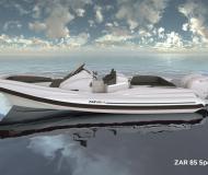 Yacht Zar 85 available for charter in Marina Kornati