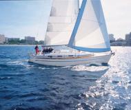 Segelyacht Bavaria 36 Cruiser Yachtcharter in Port of Skopelos