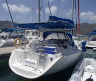 Yacht Cyclades 39.3 available for charter in Manuel Reef Marina