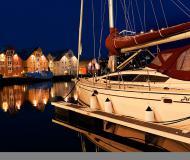 Yacht Delphia 47 for charter in Tromso Harbour