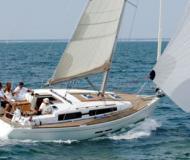 Segelyacht Dufour 375 Yachtcharter in Hafen von Hyeres