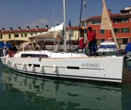 Yacht Dufour 382 Grand Large available for charter in Port of the Clock