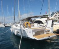 Yacht Dufour 560 Grand Large chartern in Marina Zadar