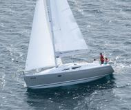 Sailing boat Elan 344 Impression for hire in Tallinn