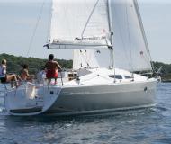 Segelyacht Elan 344 Impression Yachtcharter in YC Marina
