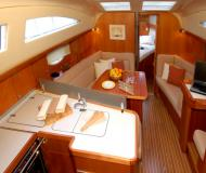 Sail boat Elan 384 Impression available for charter in Marina Kroeslin