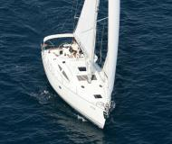 Yacht Elan 384 Impression available for charter in Marina Kroeslin