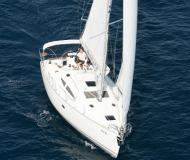 Sailing boat Elan 384 Impression available for charter in Marina Kroeslin
