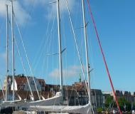 Yacht Etap 32S Yachtcharter in Rostocker Stadthafen