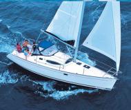 Segelboot Feeling 32 chartern in Hafen von Hyeres