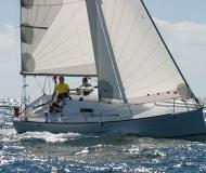 Yacht First 27.7 available for charter in Landbouwhaven Marina