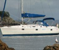 Sailing yacht First 405 for hire in Bay of Islands Marina