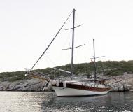 Segelboot Gulet chartern in Bodrum